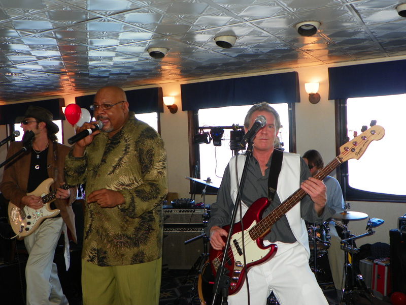 The Seven 7 Dance Band live on Valentines Day Weekend in Savannah GA 2011